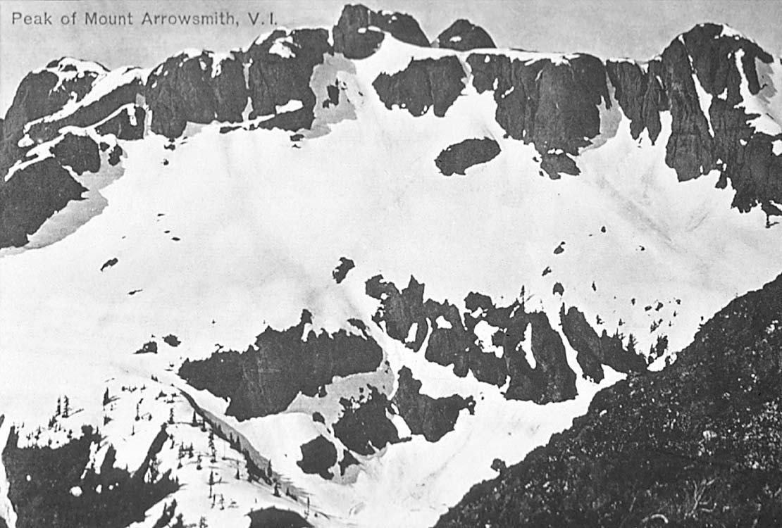 Mount Arrowsmith, 1910