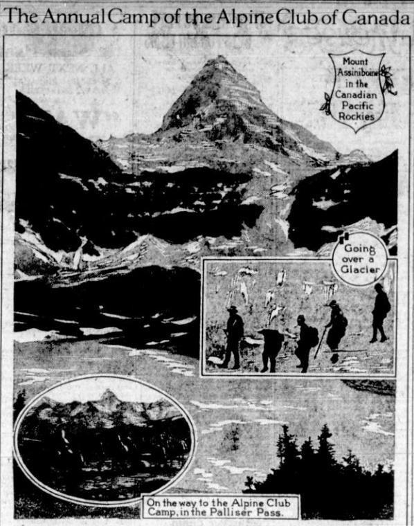 Annual Camp of The Alpine Club of Canada